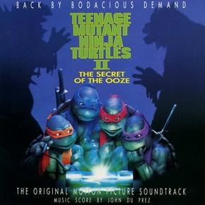 музыка, песни Черепашки-ниндзя 2: Тайна изумрудного зелья