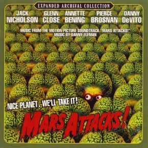 музыка, песни Марс атакует!