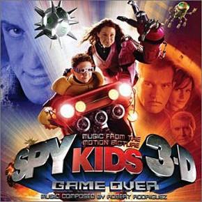 музыка, песни Дети шпионов 3: Игра окончена