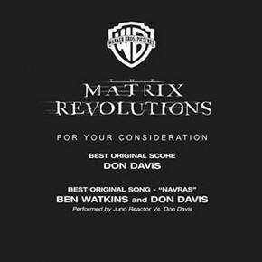 музыка, песни Матрица: Революция