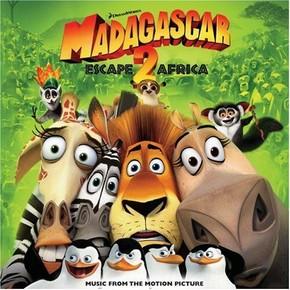 музыка, песни Мадагаскар 2